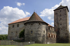 Château de Svihov dans la République de Szech Photographie stock libre de droits