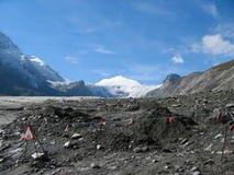 Vue sur un glacier Images stock
