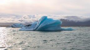 Vue sur un iceberg Photo libre de droits