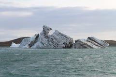 Vue sur un iceberg Images stock