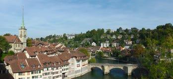 Vue sur vieille Berne Photographie stock libre de droits