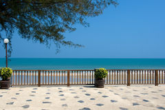 vue thaïe d'océan Image libre de droits
