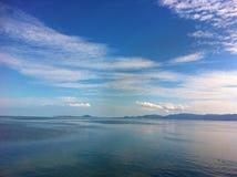 vue Thaïlande de mer Images libres de droits