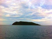 vue Thaïlande de mer de port Image stock