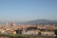 Vue totale de Florence images stock