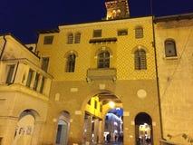 Vue tr?s gentille italienne de villes photo libre de droits