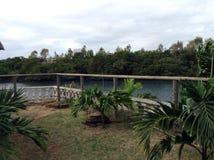 Vue tropicale Photo libre de droits