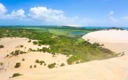 Vue tropicale d'île de Bazaruto Photo stock