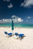 Vue tropicale de plage Photo stock