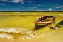 Vue tropicale de plage images stock