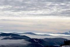 Vue une de capot de Mt photographie stock
