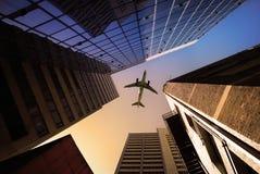 Vue urbaine de ville Images stock