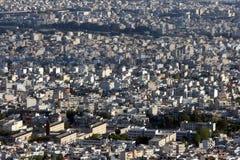 Vue urbaine de ville pour le fond Photo libre de droits