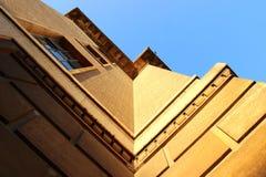 Vue vers le haut du bâtiment à Cambridge R-U Image stock