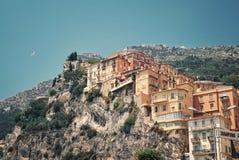 Vue vers le Monaco Photo libre de droits