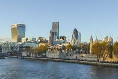 Vue vers Londres Photographie stock