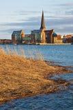 Vue vers Rostock Photo stock
