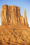 Vue verticale du pouce occidental Image libre de droits