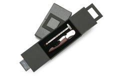 Sacacorchos con el termómetro Foto de archivo libre de regalías