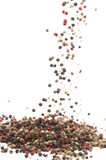 Vuele las pimientas Imagen de archivo