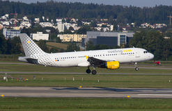 A-320 Vueling Royalty-vrije Stock Foto
