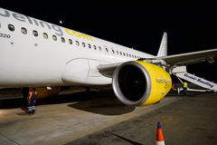 Vueling Airbus A320 Stock Photo