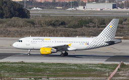 Vueling Airbus A319 Taxiing Royalty Free Stock Photo