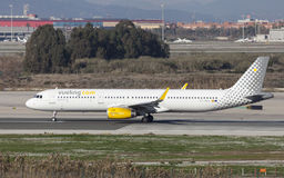 Vueling Airbus A321 Taxiing Stock Photos