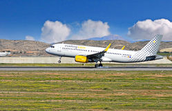 Vueling Airlines At Alicante Airport Stock Photo