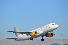 Vueling Airlines Royalty Free Stock Photo