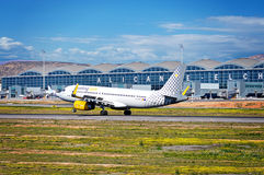 Vueling Airlines  Boeing Aircraft Royalty Free Stock Photos