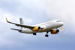 Vueling Airlines flygbuss A320 Arkivfoto