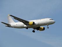Vueling airlines jet Royalty Free Stock Images