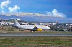 Vueling.Com Aircraft Alicante Airport Stock Photos
