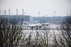 Vueling flygbuss A320-200, EC-KDX Royaltyfri Fotografi