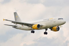 Vueling plane Royalty Free Stock Photography
