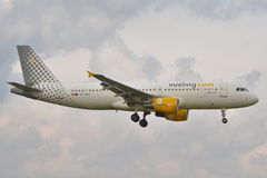 Vueling plane Stock Images