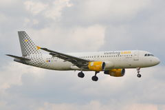 Vueling plane Royalty Free Stock Images