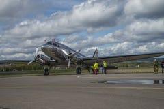 Vuelo día 11 de mayo de 2014 en Kjeller (airshow) Fotografía de archivo