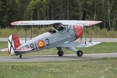 Vuelo día 11 de mayo de 2014 en Kjeller (airshow) Imagenes de archivo