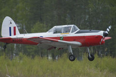Vuelo día 11 de mayo de 2014 en Kjeller (airshow) Foto de archivo