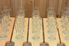 Vuelo de la cerveza Imagen de archivo