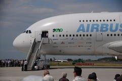 Vuelo de la versión parcial de programa de Airbus A380 en ILA Berlin Fotos de archivo libres de regalías