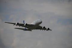Vuelo de la versión parcial de programa de Airbus A380 en ILA Berlin Fotos de archivo