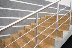 Vuelo de los pasos de la escalera Foto de archivo