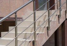 Vuelo de los pasos de la escalera Fotos de archivo