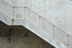 Vuelo de los pasos de progresión de la escalera Foto de archivo libre de regalías