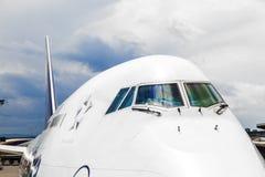 Vuelo de Lufthansa listo para dirigir Imagenes de archivo
