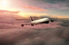 Vuelo de mucha altitud Imagen de archivo