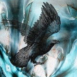 Vuelo del águila libre illustration
